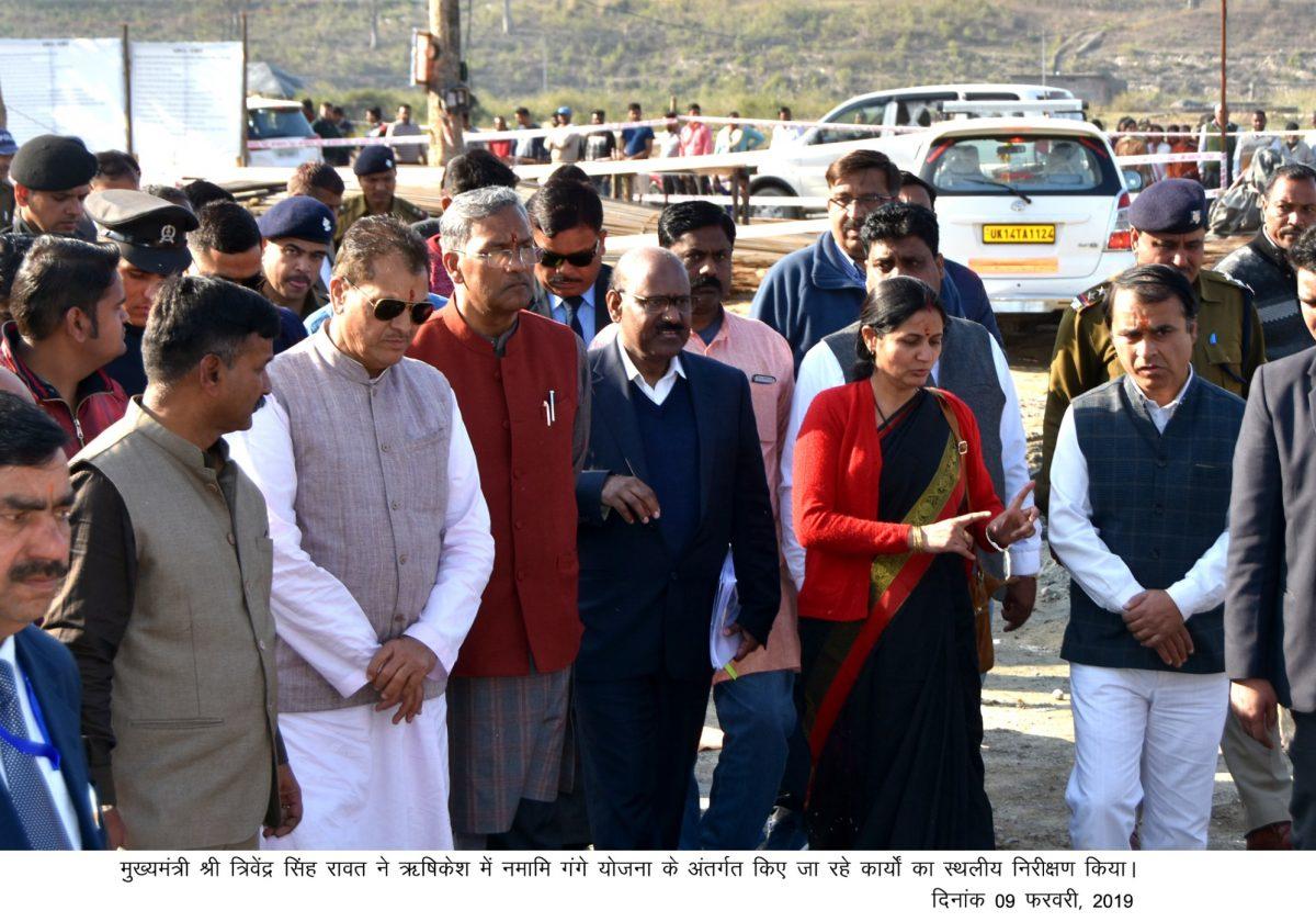 मुख्यमंत्री रावत ने दिए सख्त निर्देश-कुम्भ से पहले पूरा करें जानकी  झूलापुल
