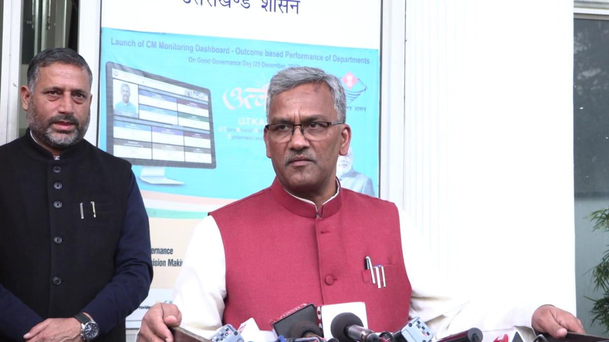 CM त्रिवेन्द्र सिंह रावत ने नमामि गंगे के कार्यो को लेकर दिए निर्देश