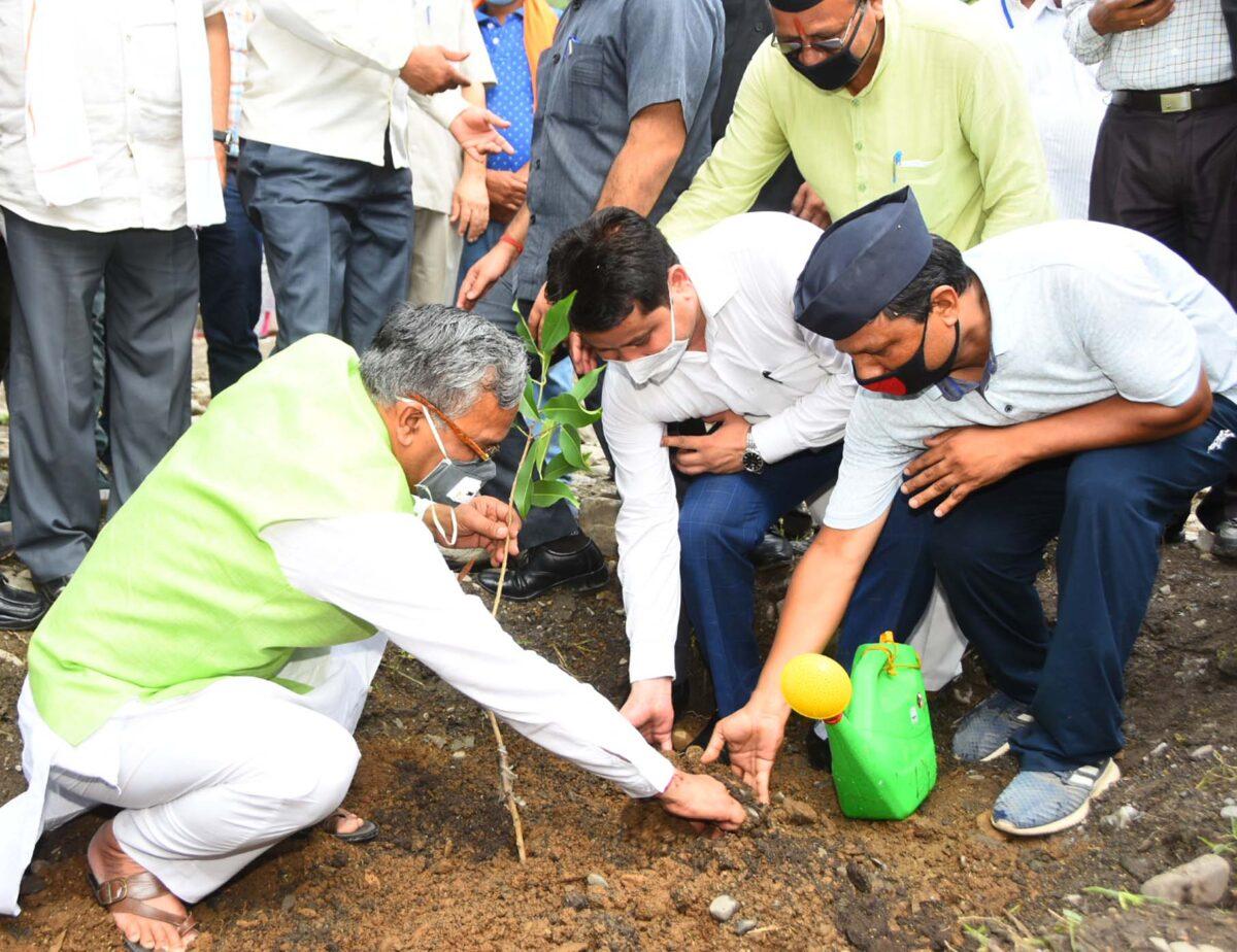 प्रधान एवं क्षेत्रवासी पौधों को गोद लेंः मुख्यमंत्री
